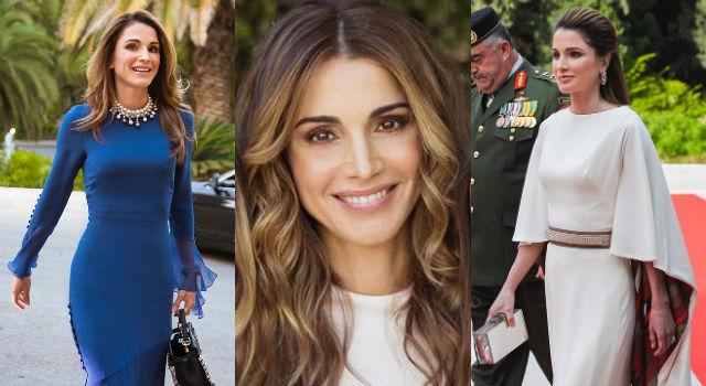「世界最美王后」刷新皇室顏值新高標!46歲約旦王后絕美氣質令人超驚艷