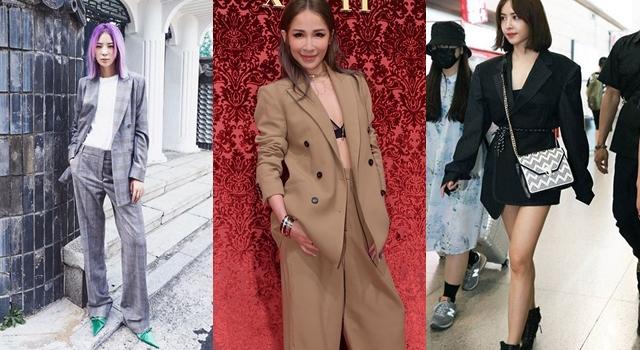 明星示範舊衣新穿3法則,西裝外套就是要穿的「不正經」才時髦!