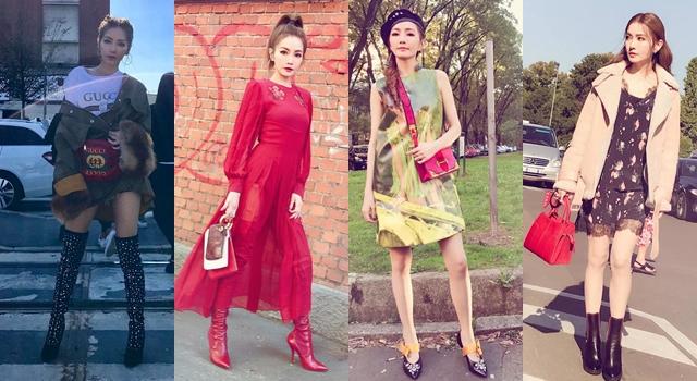電音女王躍身時尚咖!姐姐謝金燕米蘭時裝週,看秀6大造型總覽