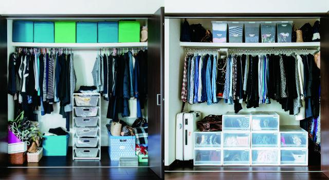 衣物摺好不要堆疊放!專家傳授「超強收納術」衣櫃整齊,還能一秒找到衣服穿!