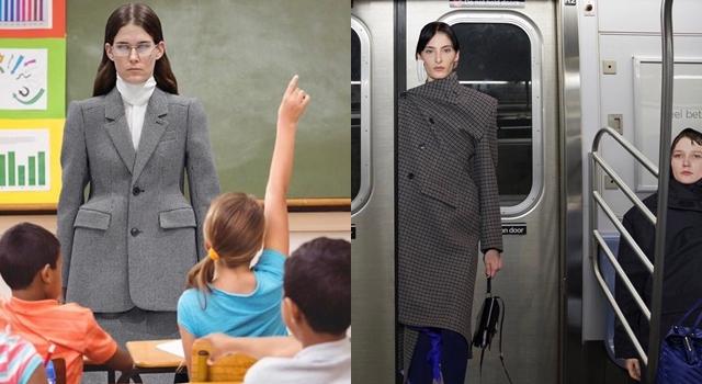 P圖高手殺紅了眼!網上瘋傳模特兒伸展台爆笑照,大開時尚圈玩笑!