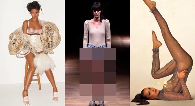 這個品牌太誇張!現代版「國王的新衣」除了蕾哈娜、貝拉哈蒂德,還有誰敢穿?