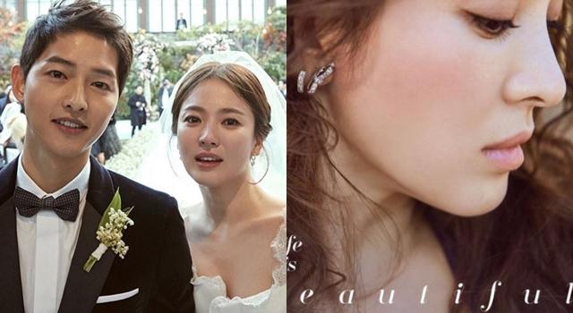 宋慧喬結婚畫「土色玫瑰妝」溫柔又有女人味!意外透露喬妹偏愛的化妝習慣有這些!