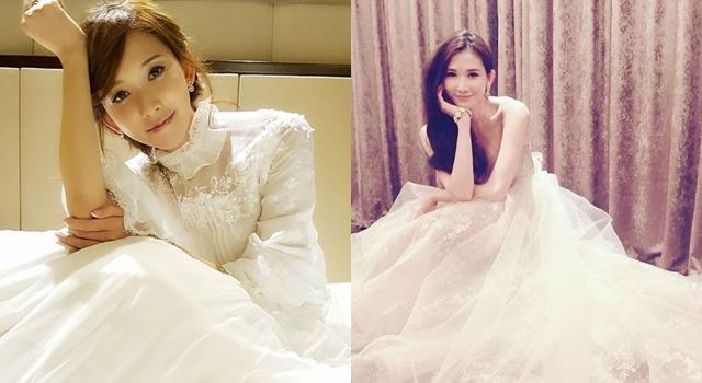 林志玲「白色禮服」洗版,網友:姐姐想婚了!原來志玲姐姐最愛的婚紗款式是…