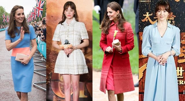 懷孕想顯瘦就換上「這顏色」!凱特王妃、宋慧喬都愛這樣穿…