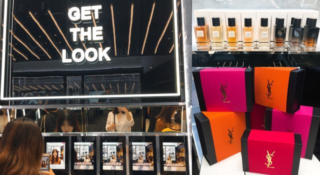 YSL全球最大旗艦店在台灣!iPAD找最佳色號、獨家訂製香水、刻字&包裝服務細節公開了!