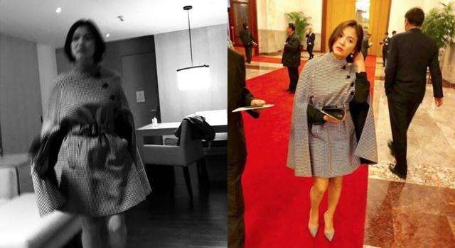 一張IG照引起騷動!「宋慧喬格子裙」一夜之間成了微博熱搜前10名