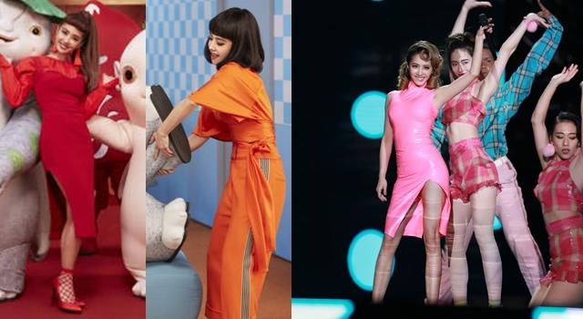 蔡依林熱情唱跳裙子破了沒在怕!年底拚搶錢「呸姐時尚」火力全開!