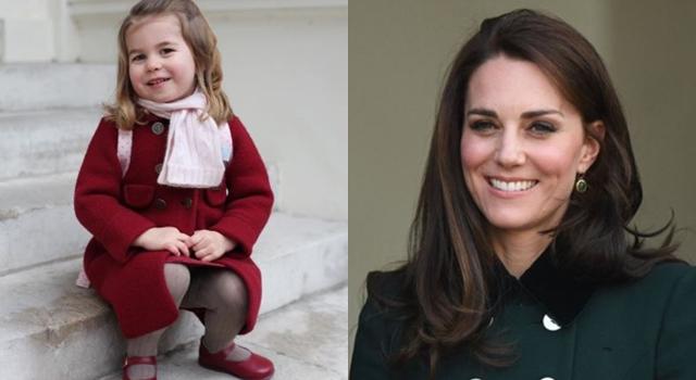 遺傳凱特王妃高衣Q!英國皇室曝光夏綠蒂小公主「上學照」萌翻天!