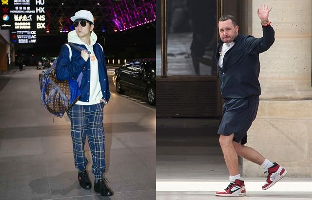 JJ林俊傑難得巴黎看時裝秀,竟然遇上設計師的最後一場?