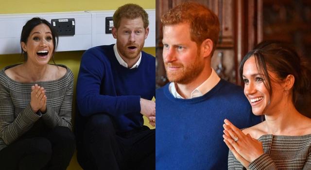 風太大?哈利王子準王妃梅根又一頭亂髮亮相!網友:也趕打卡嗎?