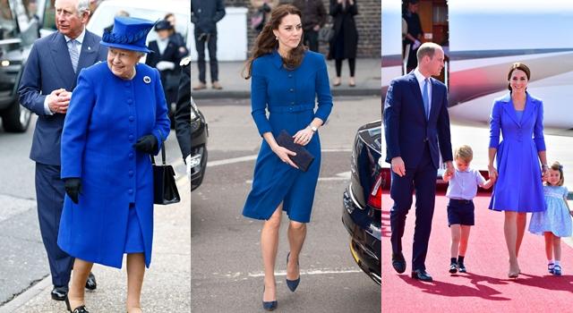 「皇家藍」到底有多神秘?英國女王、凱特王妃總是挑這個顏色的潛規則是...
