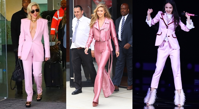 把西裝穿出新高度!蔡依林、女神卡卡都愛「粉紅」色耍帥才精采!