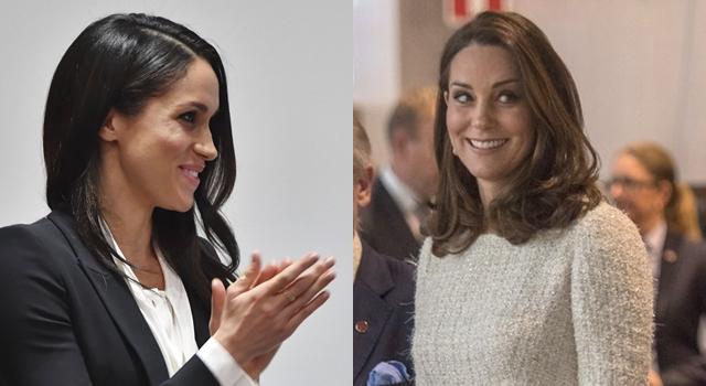 凱特王妃堪稱世上最美孕婦拚外交!沒想到和準王妃梅根隔空也能「撞」?