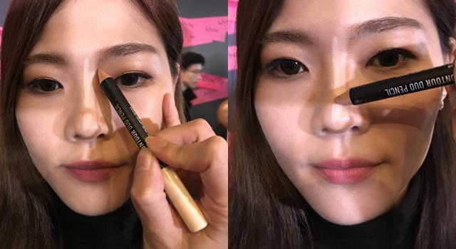 蒜頭鼻變歐美高挺鼻!彩妝師傳授:鼻影要畫好得多這2個動作!