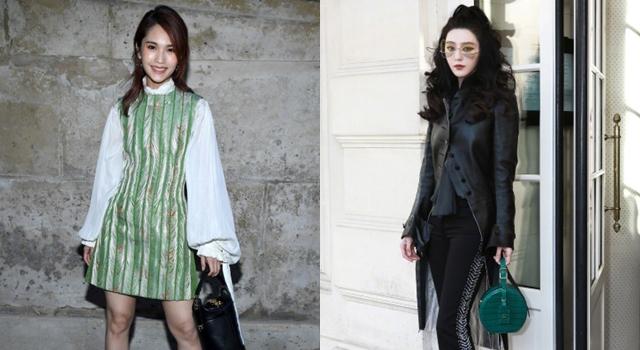 LV秋冬秀成時尚戰場?范冰冰、楊丞琳比美更比「氣場」服裝品味大PK!