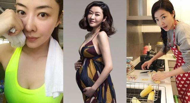 37歲熊黛林自認易胖體質!懷胎8月卻「養胎不養肉」超威秘訣公開了