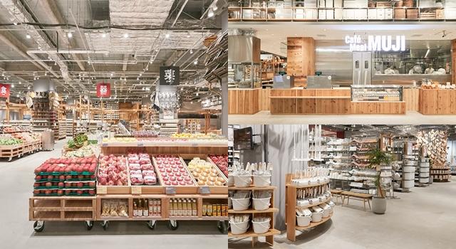 MUJI迷必朝聖!「全世界最大、買得到水果和生魚片」的無印良品大阪開幕!
