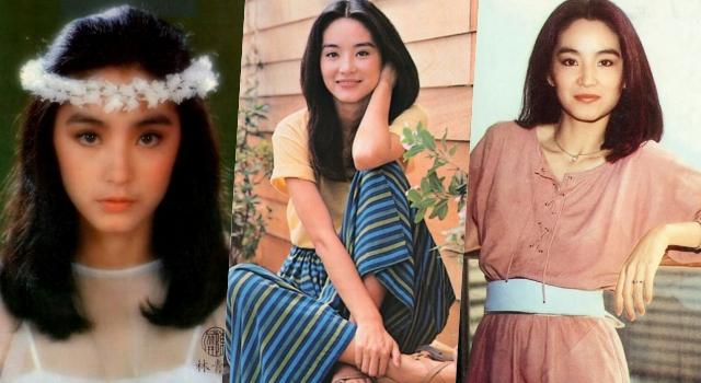 當年「校花級學生照」引爆日本討論潮!60張照片看盡「林青霞」清純嬌豔各種美!