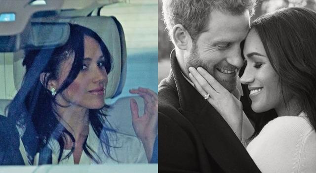 準王妃梅根彩排大婚!秀2.15克拉鑽石耳環、戴大鑽戒貴氣逼人!