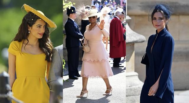 英皇室婚禮賓客造型搶鏡!克隆尼老婆Amal、貝嫂維多利亞禮服「多一片」!