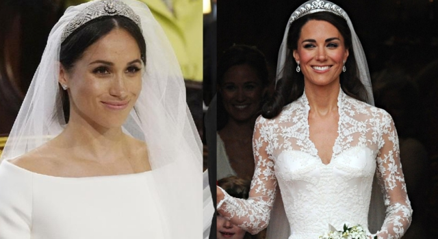 凱特王妃vs.梅根新王妃「婚禮妝髮」大不同!據說梅根隨身一定攜帶...