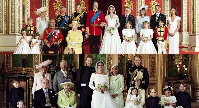 英皇室公布哈利結婚全家福!對比威廉凱特,意外掀出時尚 4 亮點!