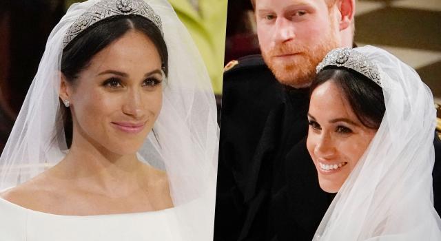 梅根結婚居然只塗護唇膏!「粉底」也有備而來,下雨淋濕也不怕脫妝!