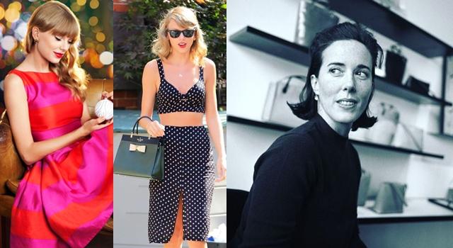 小天后泰勒絲也愛Kate Spade!懷念時尚設計師凱特絲蓓經典5設計