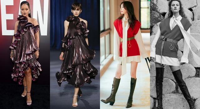 【時尚前後台Top 5】造型師幫倒忙!蕾哈娜穿「巨型荷葉邊」禮服顯得超壯?