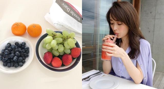 夏日果汁養顏要看顏色?營養師:「這種水果」美容效果最好!