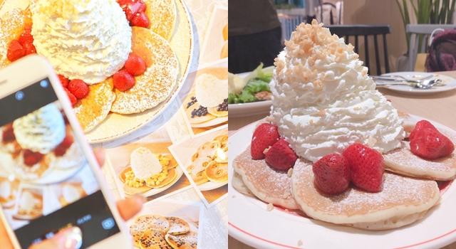 15公分高巨無霸鮮奶油山!日本必吃排隊鬆餅eggs'n things來台首間店開幕!