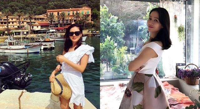 《漂亮姊姊》孫藝珍「度假時尚」超辣眼!IG曬泳裝照、直逼走光邊緣沒在怕!