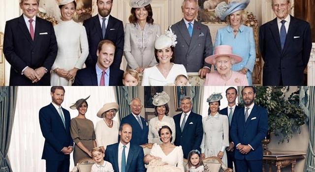 英皇室釋出路易小王子超萌受洗照!成員中唯一不合群的是「她」...