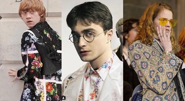 又見P圖高手!《哈利波特》主角穿 Dior 新裝成最狂「時尚惡搞」!