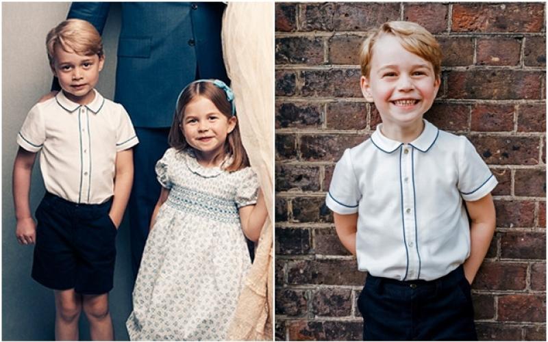 喬治小王子5歲了! 官方照曝光萌翻全球