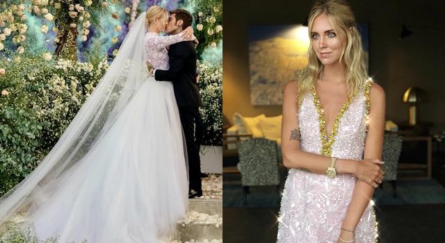 世界級網紅琪亞拉大婚!選穿「喬妹同品牌」婚紗洗版時尚圈!
