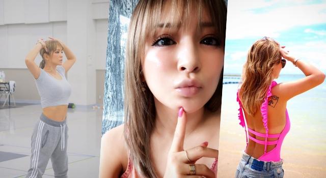 濱崎步整形傳聞不斷...39歲「日本最強歌姬」靠瘦身3招當永遠的V臉小腰精!
