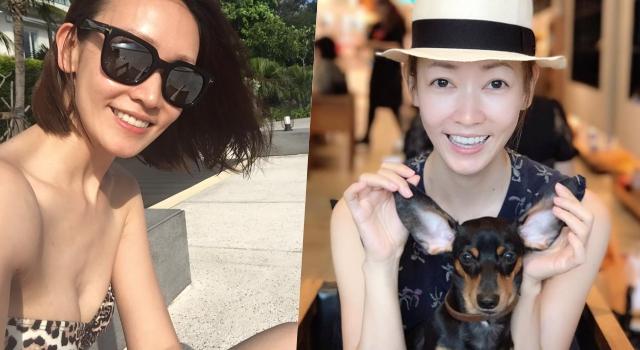 41歲潘慧如低胸禮服雪乳超辣眼!小S還讚她演藝圈「素顏最美」女星!