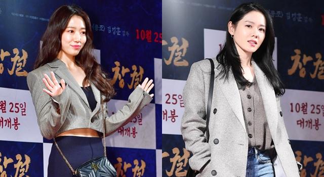 韓國兩大女神鬥美搶鏡!朴信惠露蠻腰、曬辣腿狠尬「漂亮姐姐」孫藝珍!