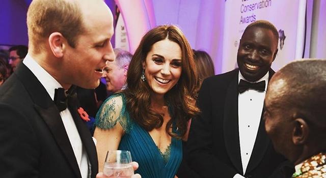 凱特王妃穿回6年前舊衣!「深V露美背」大解禁,連生三胎身材0區別!
