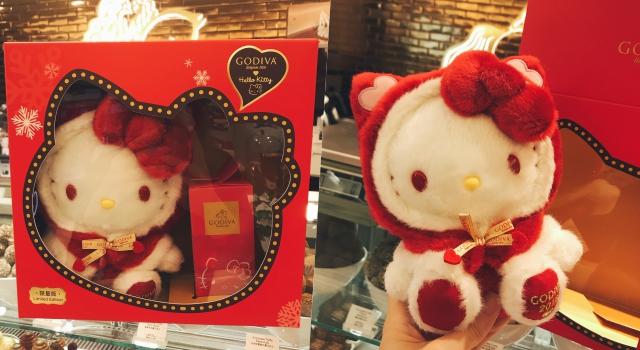 Kitty迷注意!GODIVA去年秒殺的耶誕限量禮盒再度超萌回歸了!