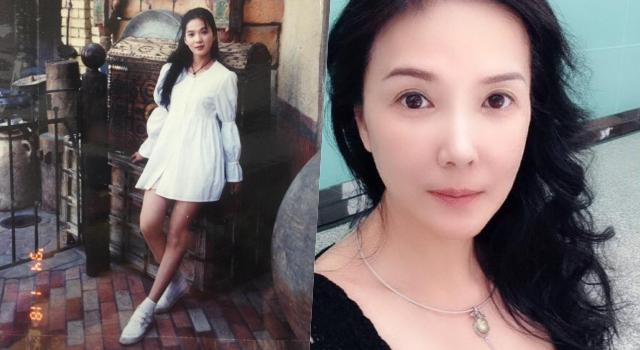 51歲丁國琳曬24年前嫩照...露白皙美腿根本清純美少女!