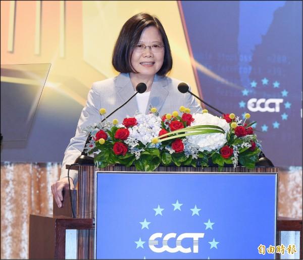 蔡政府兩年政績證明「不靠中國 經濟才會發展」