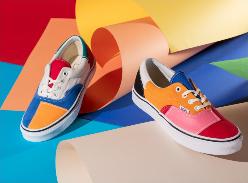 Vans Patchwork Pack系列Era,2,780元。