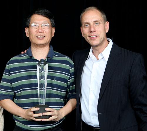 北祥公司榮獲 2011 微軟年度台灣最佳夥伴卓越獎