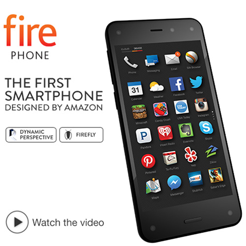 技術太過前衛? Amazon Kindle Fire 3D 手機讓人火不起來