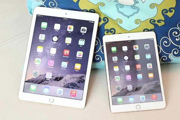 內在進化!Apple 新款 iPad Air 2/iPad Mini 3 開箱實測