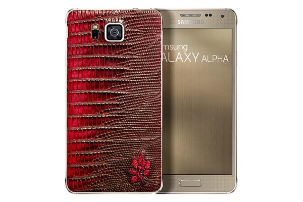 奢華限量 100 台!閃亮皮革版本 Galaxy Alpha 登場