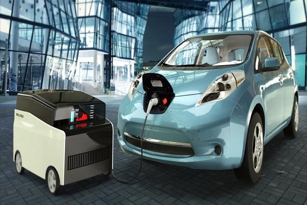 幫電動車隨時補滿電力!會到處幫人充電的迷你移動充電車